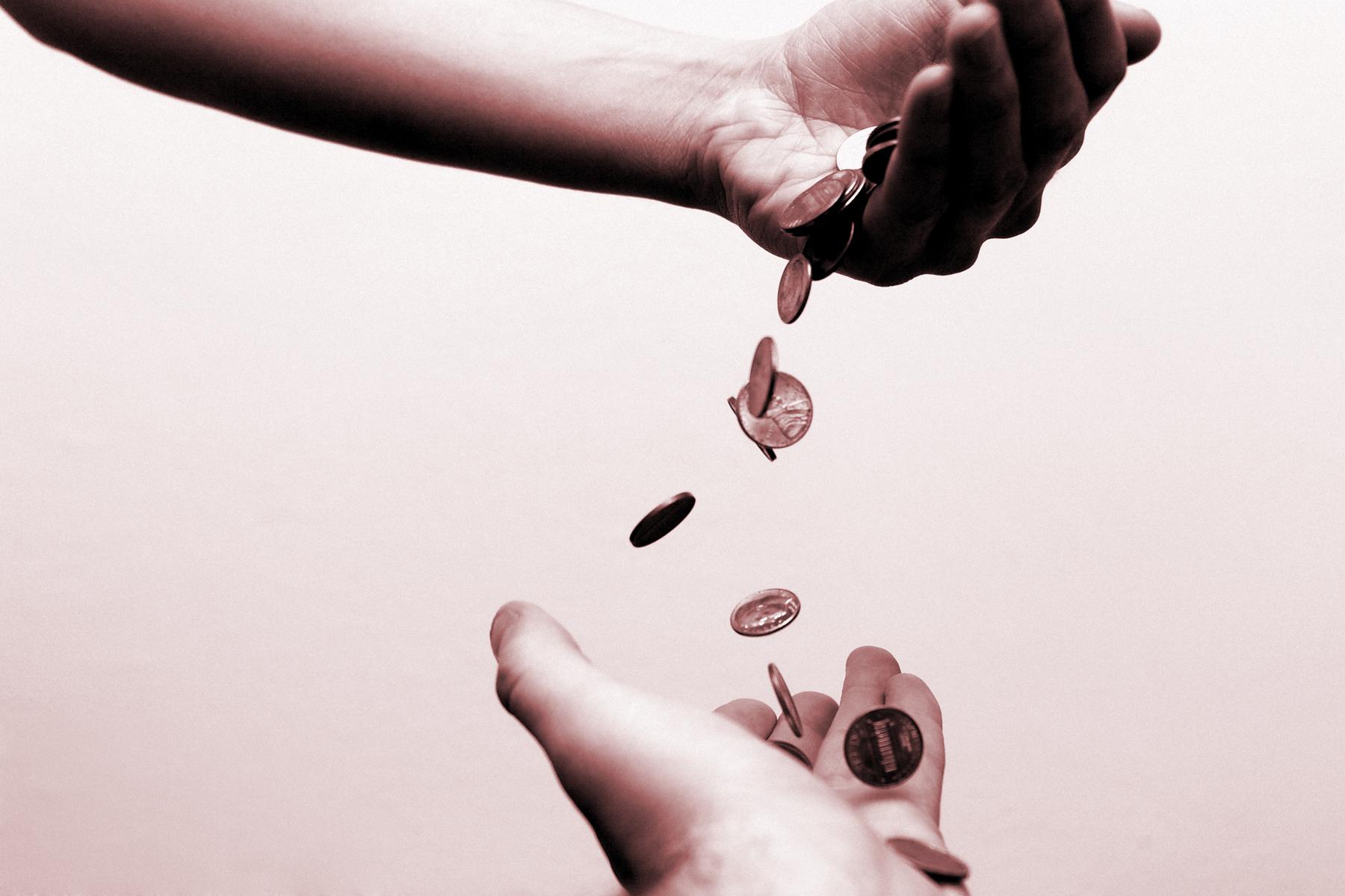 Transmission impôt à la source don argent